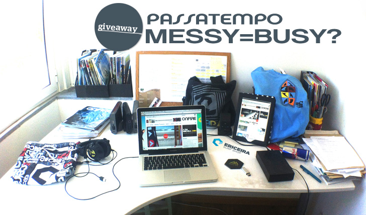 """1063Passatempo """"Messy = Busy?"""" ONFIRE   Ericeira Surf Shop"""