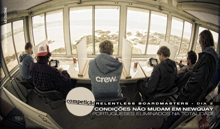 880Portugueses eliminados no Rentless Boardmasters | Dia 2