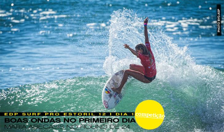 2663Boas ondas no EDP Surf Pro Estoril 2012   Dia 1