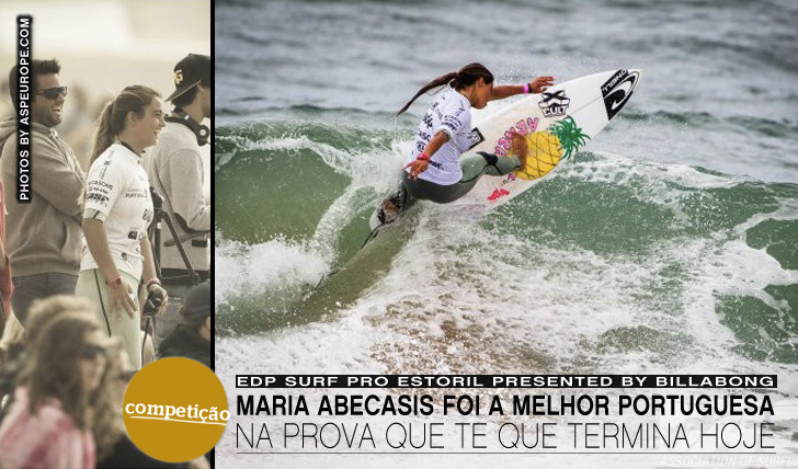 2690Maria Abecasis foi a melhor portuguesa no EDP Surf Pro Estoril