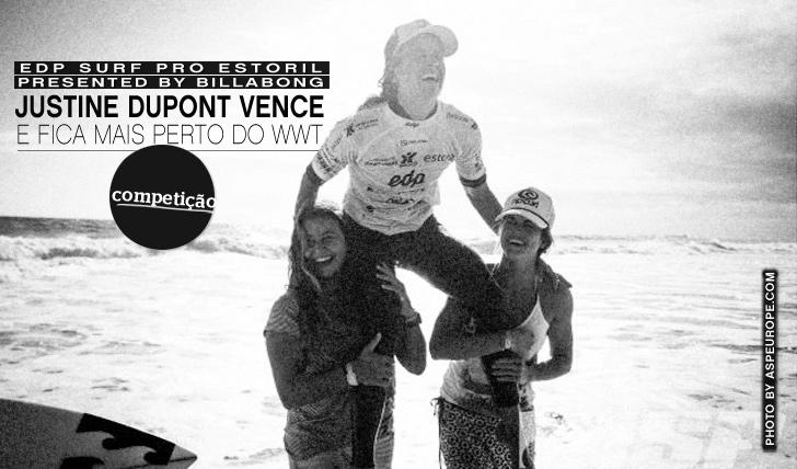 2712Justine Dupont vence EDP Surf Pro Estoril