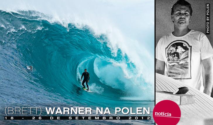 2443(Brett) Warner na Polen Surfboards