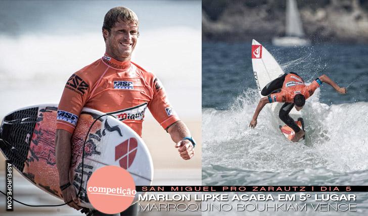 1869Marlon Lipke em 5º em Zarautz | Ramzi Boukhiam campeão
