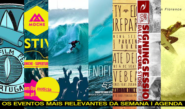 """3326Agenda """"behind the Rip Curl Pro Portugal"""""""