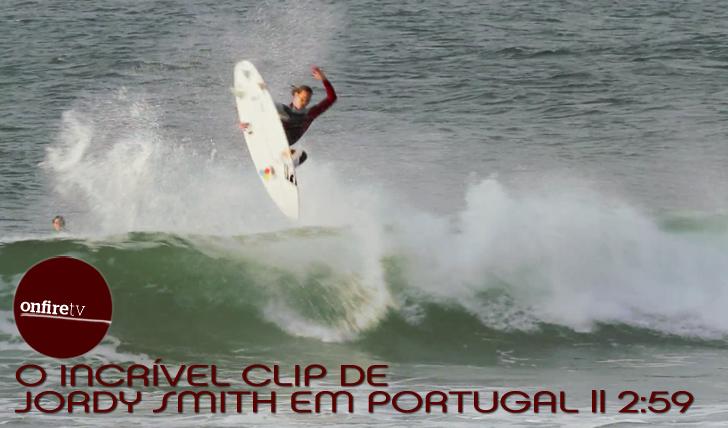 3972O incrível clip de Jordy Smith em Portugal || 2:59