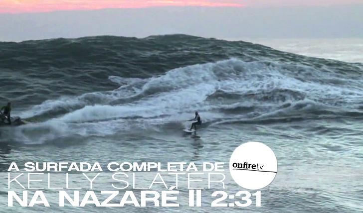 3731A surfada completa de Slater na Nazaré || 2:31