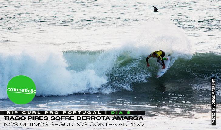 3631Derrota amarga para Tiago Pires no Rip Curl Pro Portugal