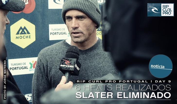 38456 heats realizados de manhã no Rip Curl Pro Portugal | Kelly Slater Eliminado