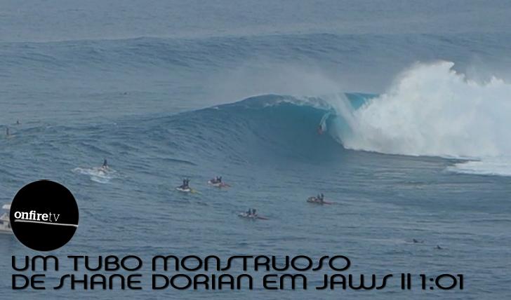 3273O tubo gigante de Shane Dorian em Jaws || 1:01