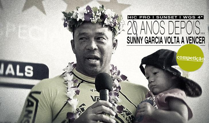 478120 anos depois… Sunny Garcia volta a vencer em Sunset