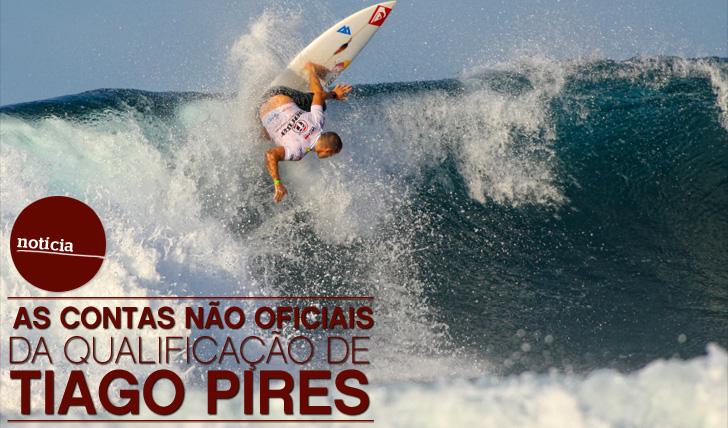 5350As contas não oficiais da qualificação de Tiago Pires para o World Tour de 2013