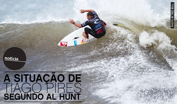 5787A situação de Tiago Pires segundo Al Hunt