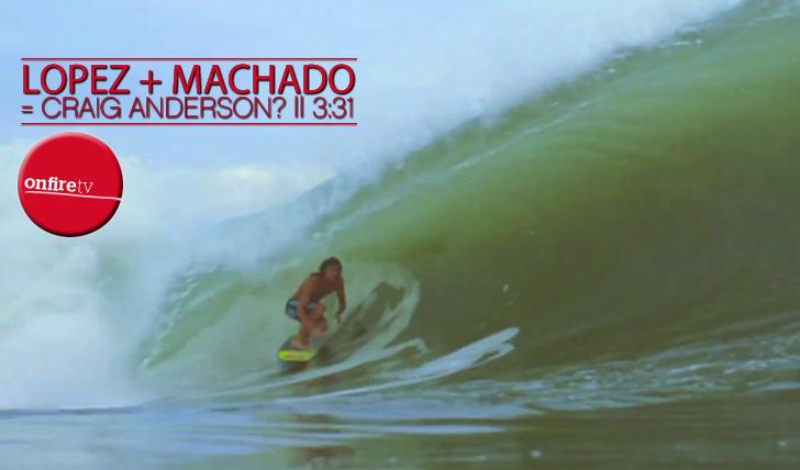 5661Lopez + Machado = Craig Anderson? || 3:31
