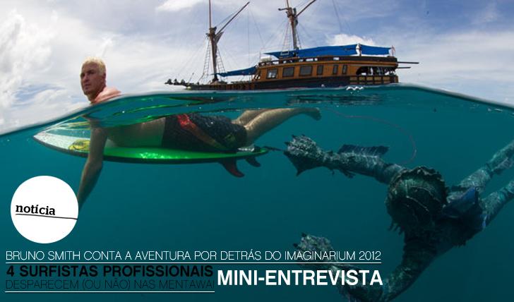 6711Mini-Entrevista | Bruno Smith conta a aventura que foi participar no Imaginarium 2012