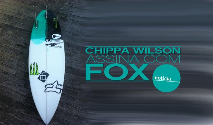 7865Chippa Wilson assina com FOX