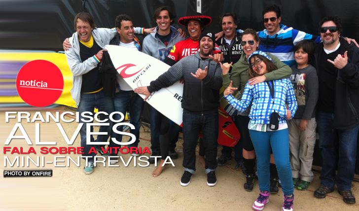 8811Francisco Alves fala sobre a vitória no MEO Caparica Pro by Rip Curl   Mini-Entrevista