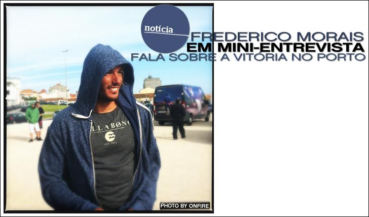 9381Frederico Morais fala sobre a vitória no Porto   Mini-Entrevista