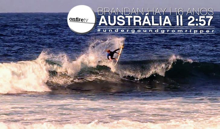 9423Brendan Hay   16 anos   Austrália    2:57