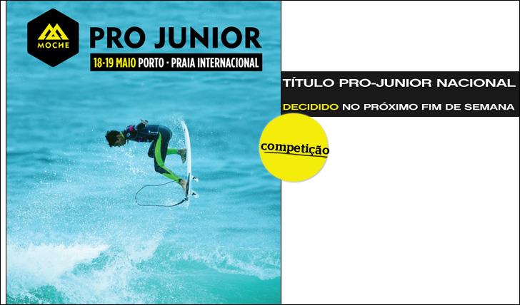 9805MOCHE Pro-Junior é já no próximo fim-de-semana