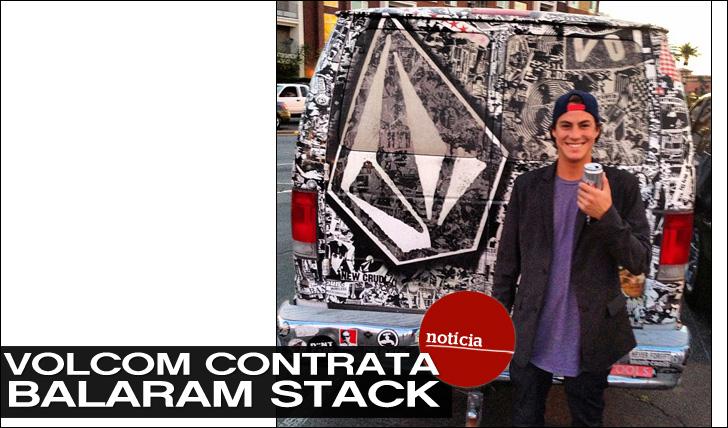 9642Volcom junta Balaram Stack ao seu team