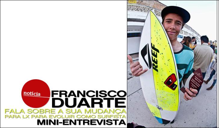 10699Francisco Duarte em Mini-Entrevista