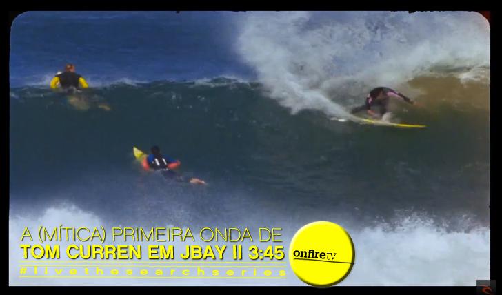 10658A (mítica) primeira onda de Tom Curren em Jeffreys Bay || 3:45