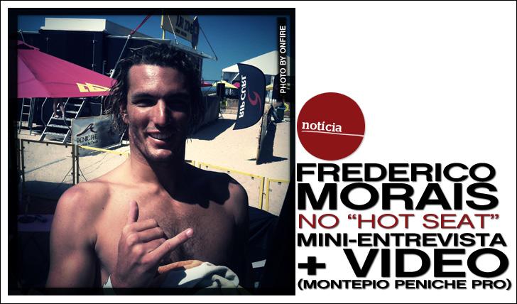 """11120Frederico Morais no """"Hot Seat""""   Mini-Entrevista + Vídeo exclusivo"""