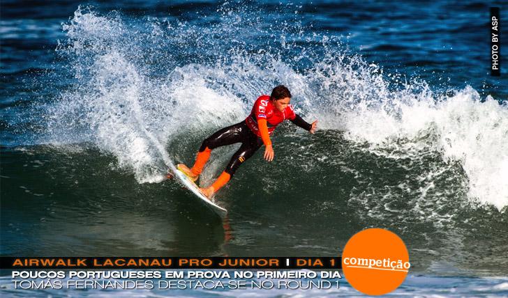 12003Portugueses começam bem no Airwalk Lacanau Pro Junior | Dia 1