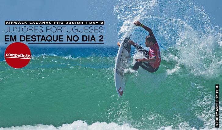 12023Juniores portugueses em destaque no dia 2 do Airwalk Lacanau Pro Junior