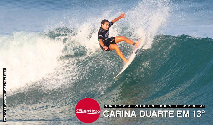 12287Carina Duarte em 13º no Swatch Girls Pro
