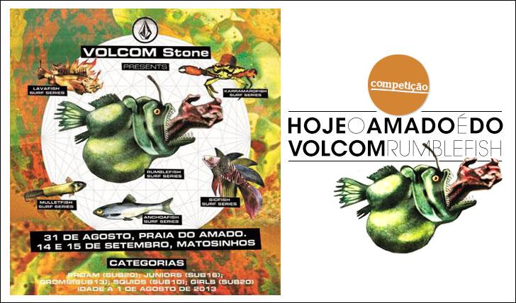 12464Hoje o Amado é do Volcom Rumblefish