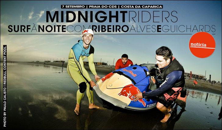 12483Midnight Riders | Surf à noite com Ribeiro, Alves e Guichards na Costa da Caparica