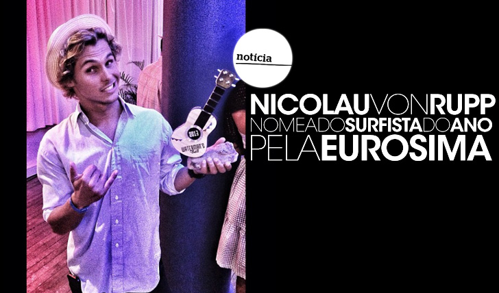 13320Nic von Rupp é o Surfista Europeu do Ano 2013