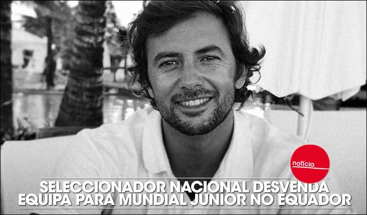 16343Desvendada Selecção Nacional para Mundial Júnior no Equador