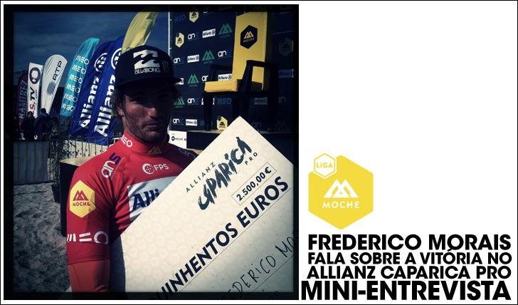 16730Frederico Morais fala sobre a vitória no Allianz Caparica Pro   Mini-Entrevista
