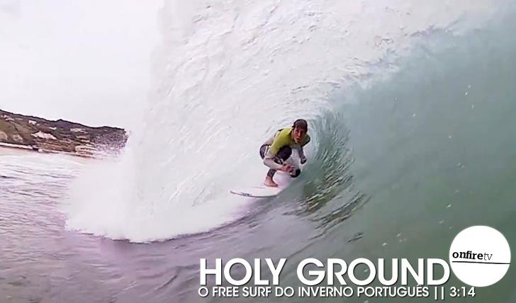 16738Holy Ground   O free surf do Inverno português    3:14