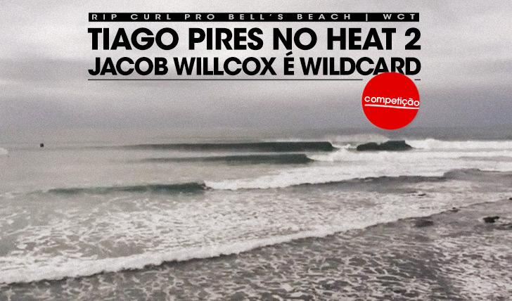 17161Tiago Pires no round 1 do Rip Curl Pro Bells e Willcox é wildcard