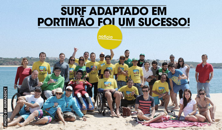 17123Surf Adaptado em Portimão foi um sucesso!
