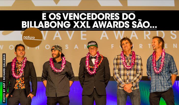 17673E os vencedores do Billabong XXL Awards são…