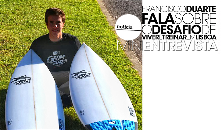 17934Francisco Duarte fala sobre desafios | Mini-Entrevista