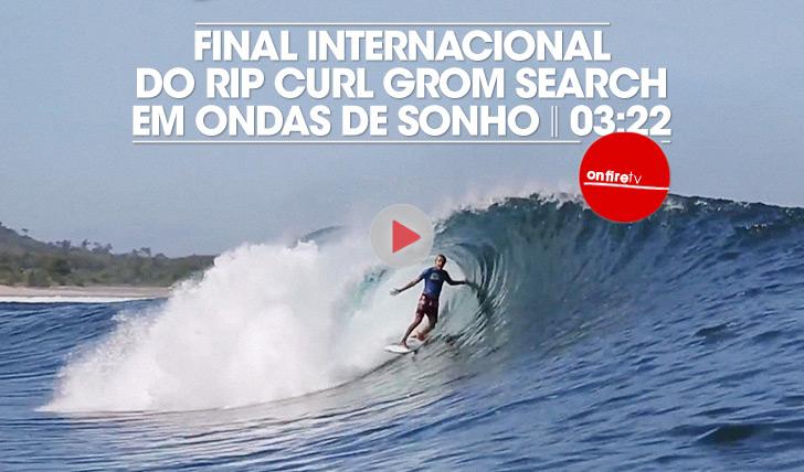 17849Final internacional do Rip Curl Grom Search em ondas de sonho!