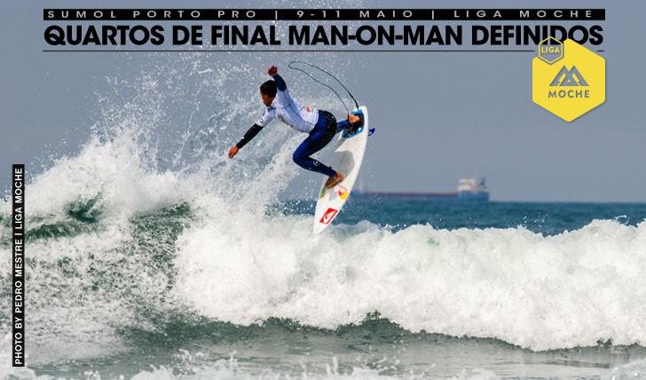 17802Quartos de final man-on-man definidos no Sumol Porto Pro