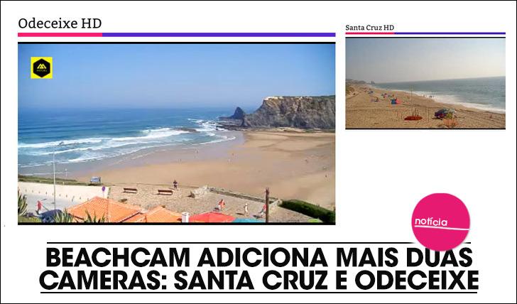 18661Beachcam com novas cameras: Odeceixe e Santa Cruz