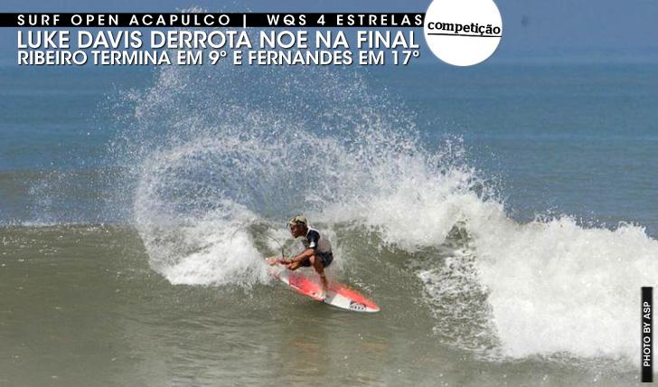 18907Vasco Ribeiro em 9º lugar em Acapulco | Luke Davis vence