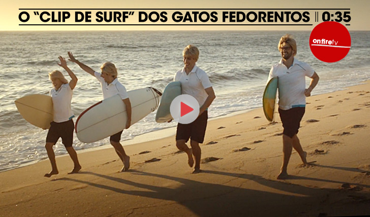 """19267O """"clip de surf"""" dos Gatos Fedorentos    0:35"""