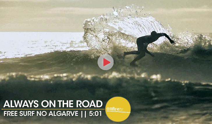 20098Always on the road | Algarve free surf || 5:01