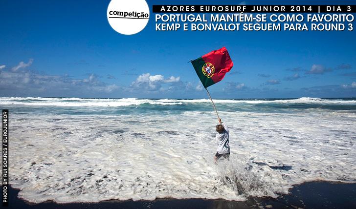 20108Kemp e Bonvalot no round 3 do Eurosurf Junior | Dia 3