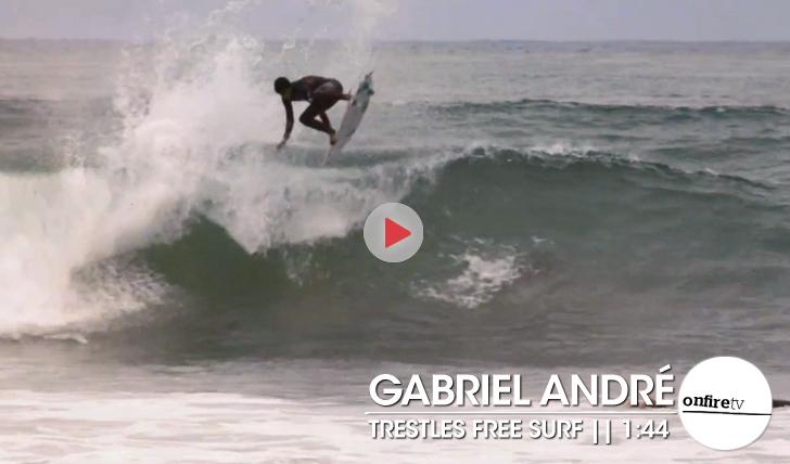 19990Gabriel André | Free Surf em Trestles || 1:44