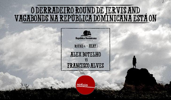 19941Derradeiro round de Jervis and Vagabonds na República Dominicana está ON