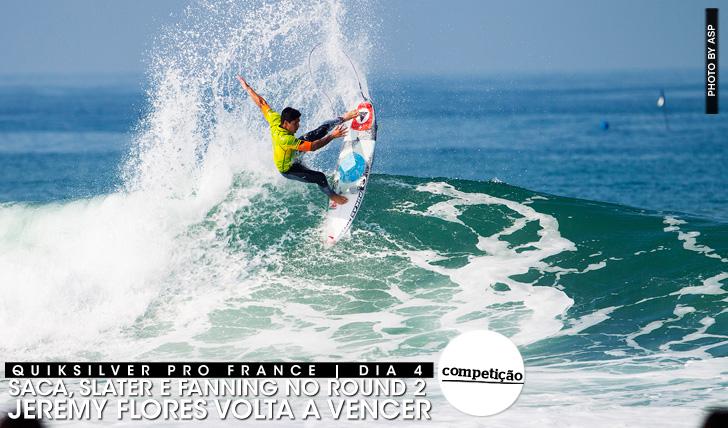 20312Saca, Slater e Fanning no round 2 | Quiksilver Pro France | Dia 4